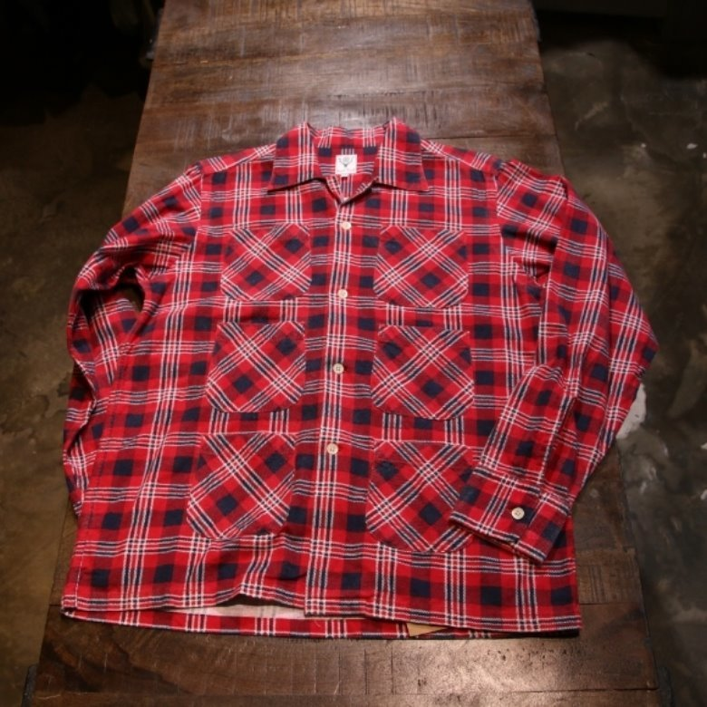 s2w8 6 pocket check shirt (M)