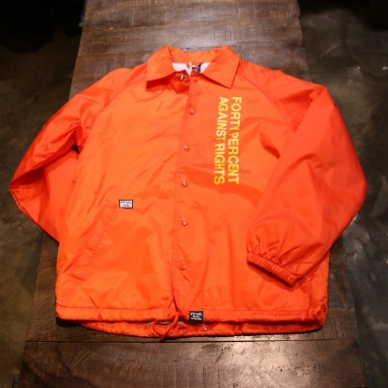 FPAR orange coach jacket