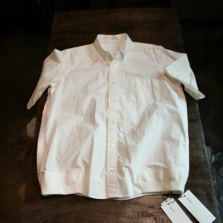 sacai short sleeved shirt