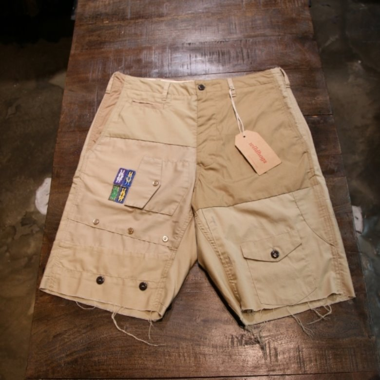 Rebuild by Needles BOYSCOUT SHIRT shorts