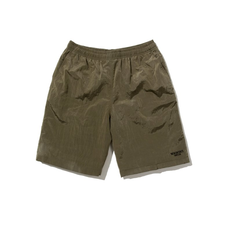 wildhogs waikiki surf club shorts (KHAKI)