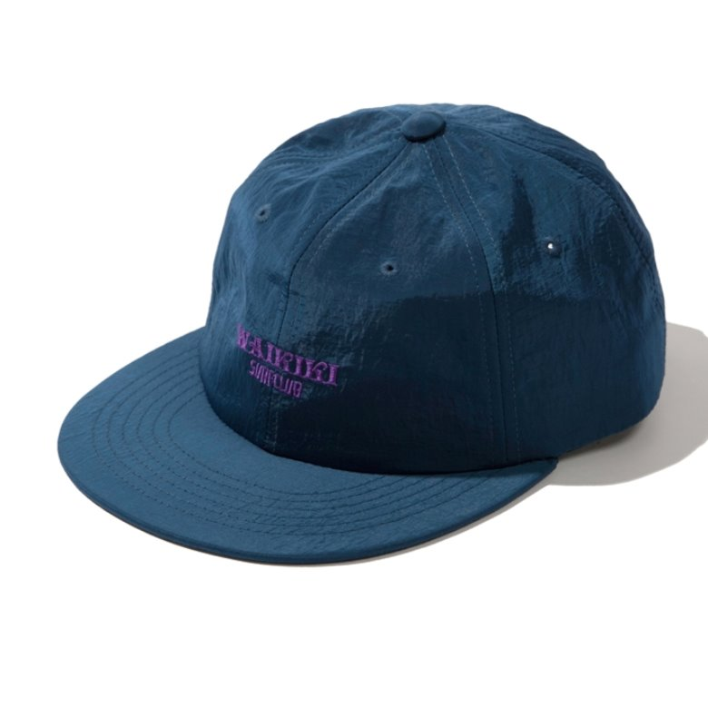 wildhogs waikiki surf club cap (DARK BLUE)