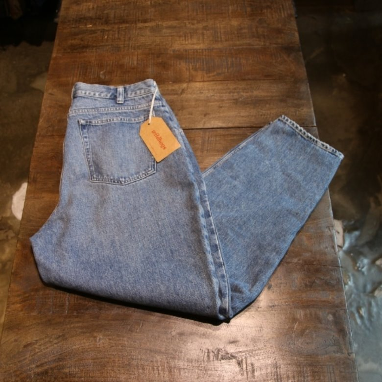 beauty & youth tapered denim pants