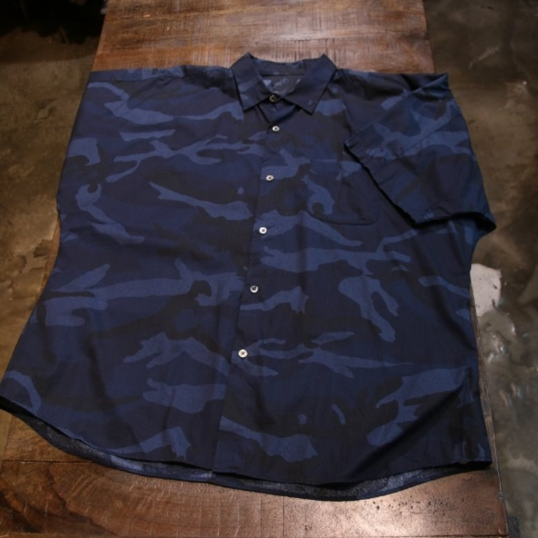 sophnet CAMOUFLAGE LOAN BIG SHIRT