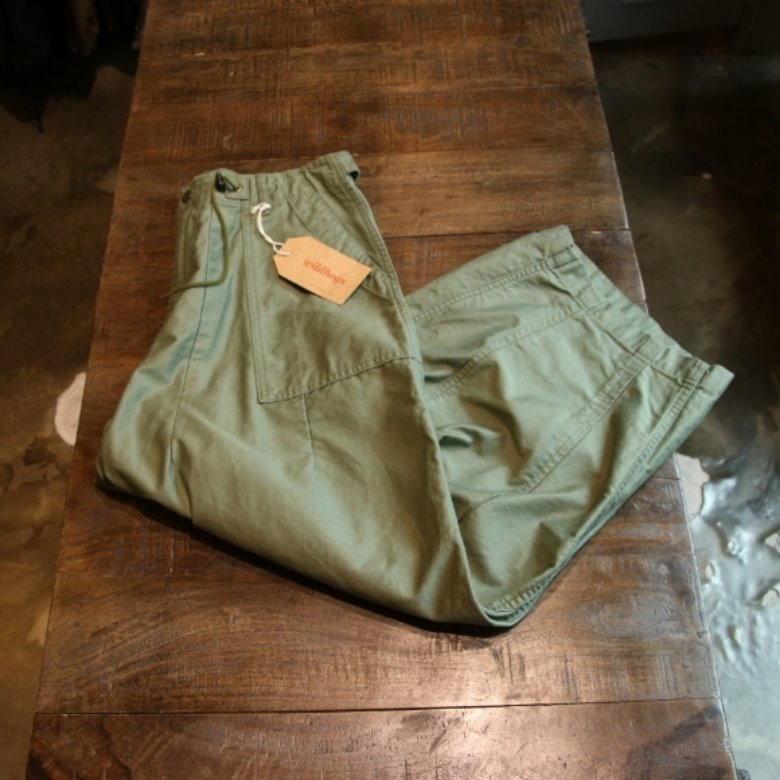 needles hd fatigue pants khaki (2)