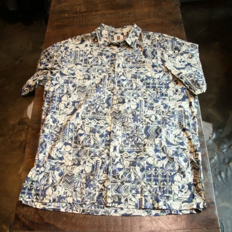 tory richard flower hawaii shirt