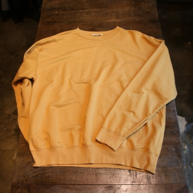 auralee super high gauge sweat big p/o