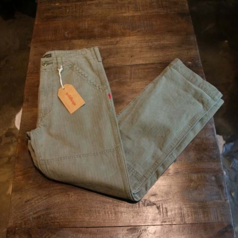 wtaps hbt buds trousers