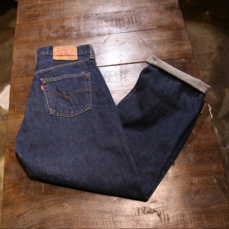 levis 502 selvage denim pants (33)