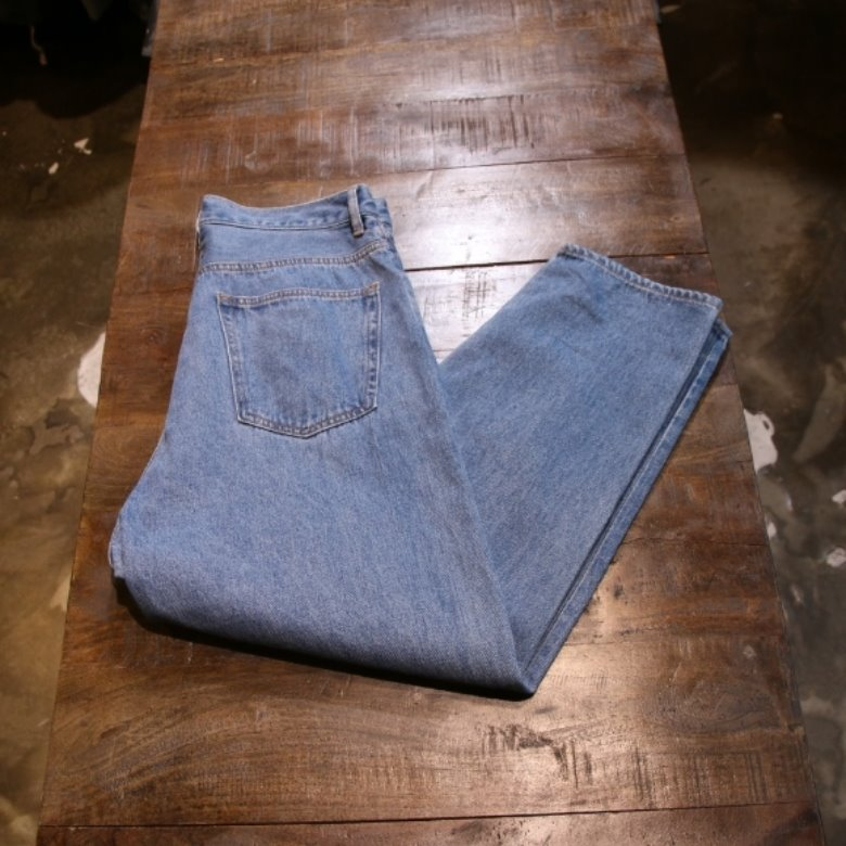 freaks store tapered denim pants (m)