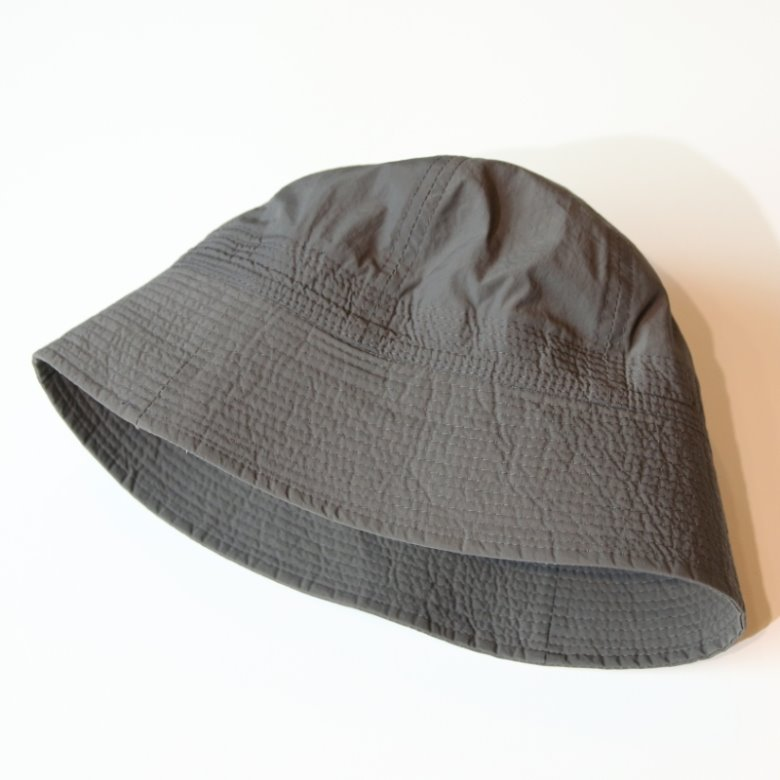 wildhogs nylon sailor bucket hat (charcoal)