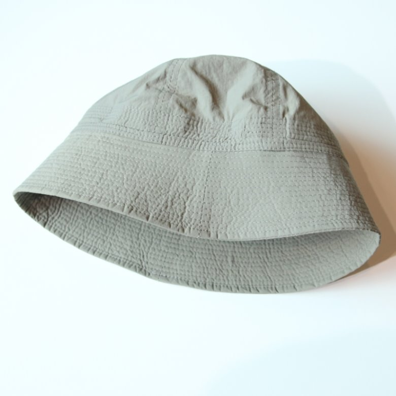 wildhogs nylon sailor bucket hat (light grey)