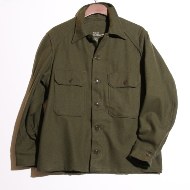 us army og-108 wool shirt (NEW)