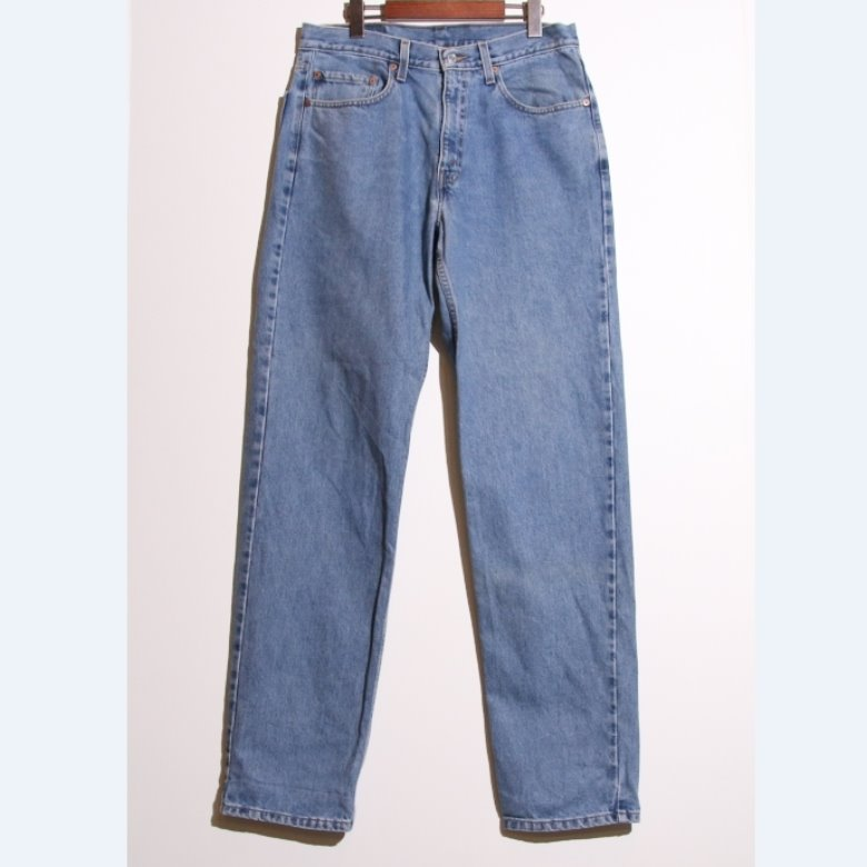 levis 550 tapered denim pants (33)