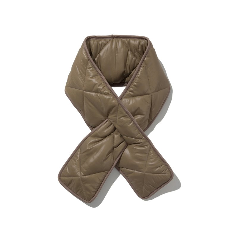 wildhogs quilted padding muffler (TAN)