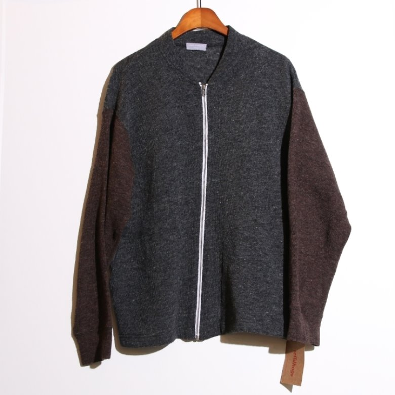 comme des garcons homme wool cardigan