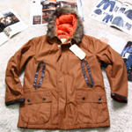 UNITED CARR by buzzrickson waxing parka