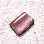 ARTS&CRAFTS leather wallet