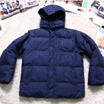 Polo boy's down parka