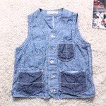 Rugged Factory chambray vest