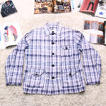 engineered garments check jacket
