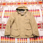 green label relaxing mountain parka