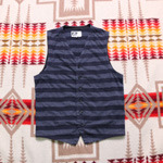 engineered garments stripe vest