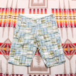 ware house patchwork 1/2 pants