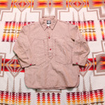 waste twice linen fullover shirts