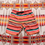 wild things stripe 1/2 pants