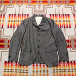J.S. Homestead grey sack coat
