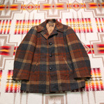 pendleton wool check coat
