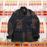 gowest patchwork jacket