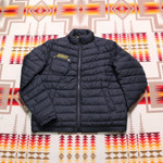 barbour international baffle quilt jacket