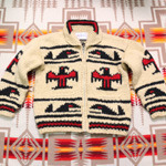 MARK cowichan sweater zip-up