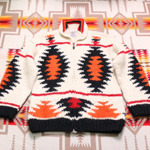 KANATA cowichan sweater zip-up