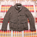 HAVERSACK Double Knit Wool Heavy Cardigan