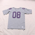 champion x stussy football tee
