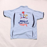 style eyes road runner bowling shirt