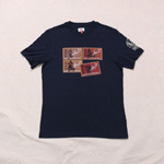 barbour international x steve mequeen print tee