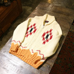indian cowichan cardigan
