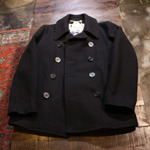 gloverall reefer melton wool peacoat