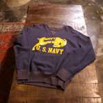 the real mccoy US NAVY sweat shirts
