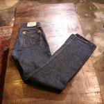 warehouse duck digger selvage jean