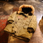 buzzrickson N-3 flying parka