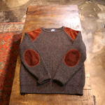 woolrich patch knit