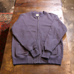 buzzrickson zipup sweat cardigan