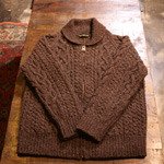 waste twice fisherman cardigan