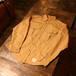 filson canvas work shirt