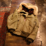 buzzrickson N-2 flying parka